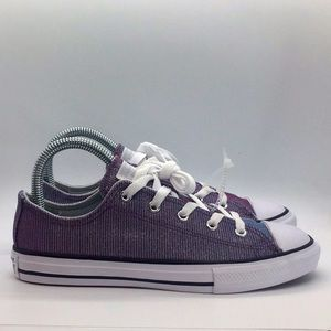 NEW Youth Converse low tops